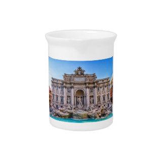 Trevi-Brunnen, Rom, Italien Krug