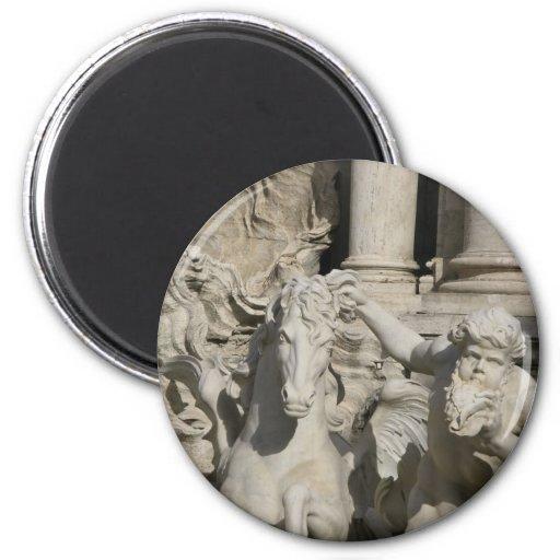 Trevi-Brunnen, Rom Italien Magnete