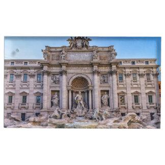 Trevi-Brunnen, Rom, Italien Platzkartenhalter