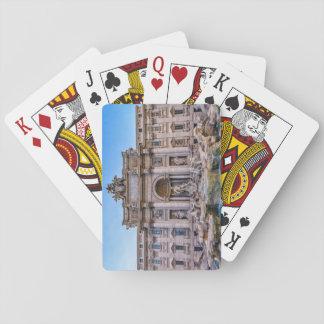 Trevi-Brunnen, Rom, Italien Spielkarten