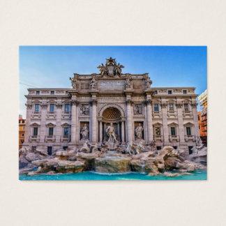 Trevi-Brunnen, Rom, Italien Visitenkarte