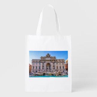 Trevi-Brunnen, Rom, Italien Wiederverwendbare Einkaufstasche