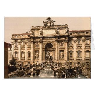 Trevi-Brunnen, Rom, Lazio, Italien Karte