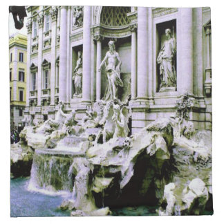 Trevi-Brunnen Rom Stoffserviette