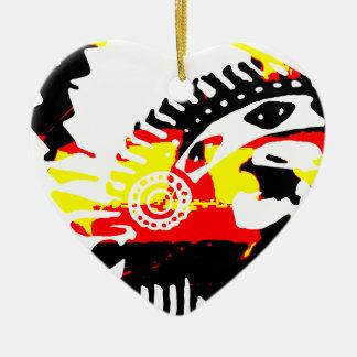 Tri Farbhauptsächlichentwurf Keramik Ornament