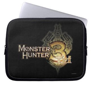 Tri Logo des Monster-Jägers Laptop Computer Schutzhüllen