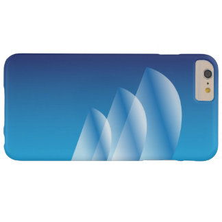 Tri-Sail_Translucent blaue Sky_Sheer Eleganz Barely There iPhone 6 Plus Hülle
