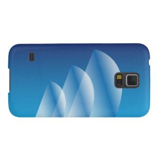 Tri Segel lichtdurchlässiger blauer Himmel Galaxy S5 Cover
