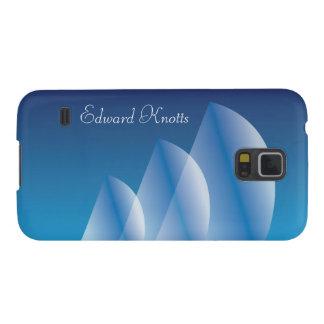 Tri Segel lichtdurchlässiger blauer Himmel Galaxy S5 Hülle
