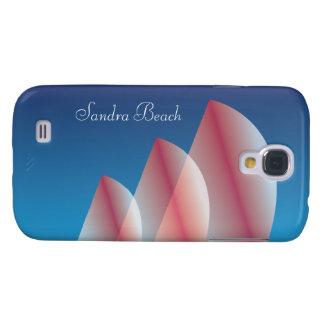 Tri Segel lichtdurchlässiges blauer Galaxy S4 Hülle