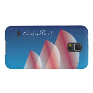Tri Segel lichtdurchlässiges blauer Galaxy S5 Cover