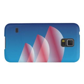 Tri Segel lichtdurchlässiges blauer Samsung Galaxy S5 Hülle