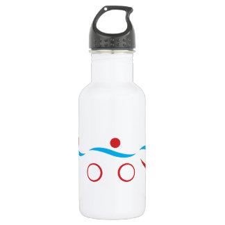 Triathlon einzigartig edelstahlflasche