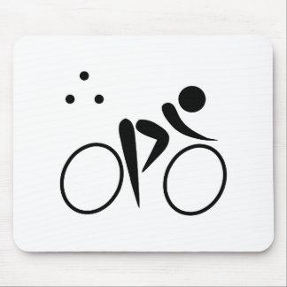 Triathlon-Logo Mousepads