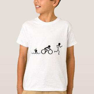 Triathlon-Strichmännchen T-Shirt