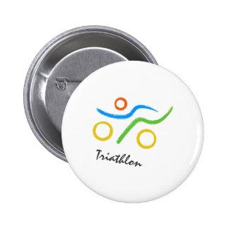 Triathlonlogo Button