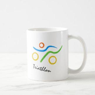 Triathlonlogo Kaffeetasse
