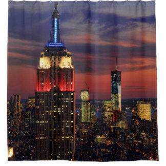 Tribut in Licht-Sept. 11, Welthandel Cntr ESB #1 Duschvorhang