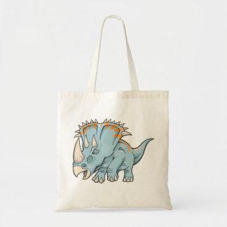 Triceratops-Dinosaurier-Tasche Budget Stoffbeutel
