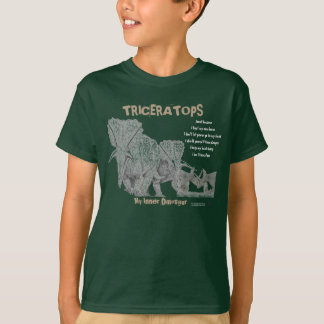 Triceratops mein innerer Dinosaurier scherzt Shirt