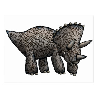 Triceratops! Postkarte