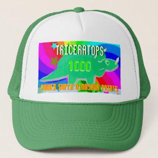 Triceratops-Power-Superdinosaurier 1000 Punkte Truckerkappe