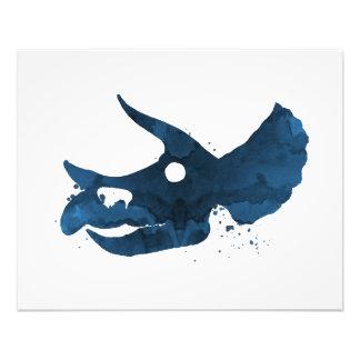 Triceratops-Schädel Fotodruck