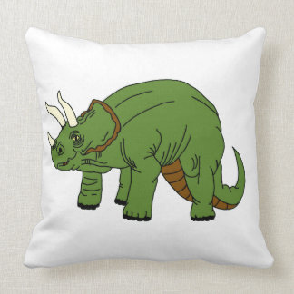 Triceratops-Wurfs-Kissen Kissen