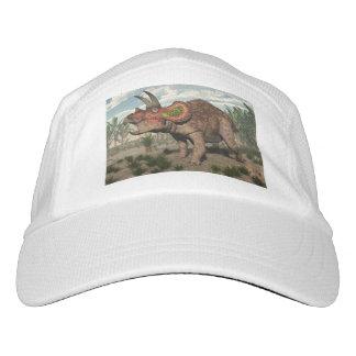Triceratopsdinosaurier - 3D übertragen Headsweats Kappe