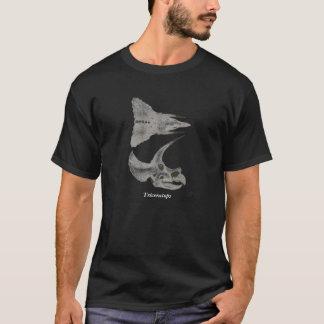 Triceratopsdinosaurier-Schädel-Shirt Gregory Paul T-Shirt