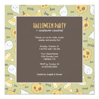 Trick-LeckereiBoo! | Halloween-Party-Einladungen Karte