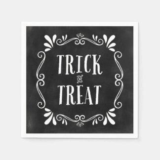 Trick-oder der Leckerei-  Halloween Servietten