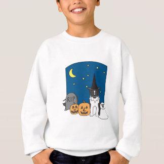 Trick-oder Leckerei-Australier Halloween Sweatshirt