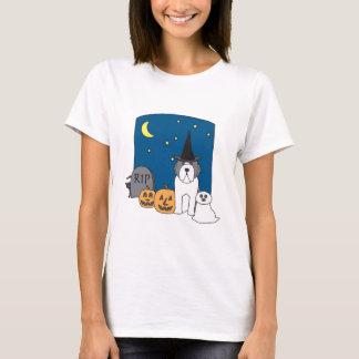 Trick oder Leckerei Beardie Halloween T-Shirt
