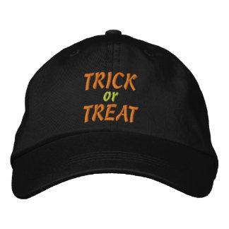 Trick oder Leckerei Bestickte Kappe