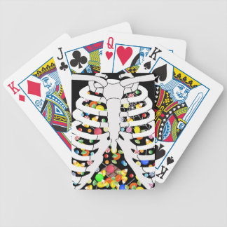 Trick oder Leckerei Bicycle Spielkarten