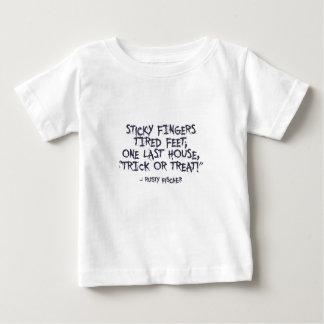 Trick-oder Leckerei-Halloween-Entwurf Baby T-shirt