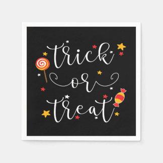 Trick oder Leckerei Halloween Papierserviette