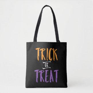 Trick-oder Leckerei-Halloween-Süßigkeits-Tasche | Tasche
