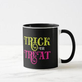 Trick-oder Leckerei-Halloween-Tasse Tasse