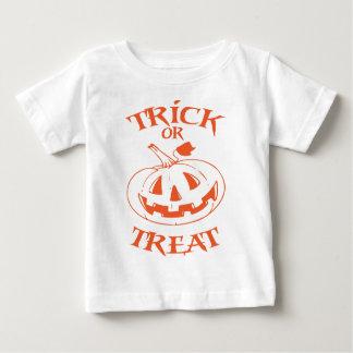 Trick-oder Leckerei-Kürbislaterne Baby T-shirt