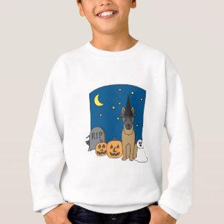 Trick oder Leckerei Malinois Halloween Sweatshirt