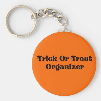Trick-oder Leckerei-Organisator Schlüsselanhänger