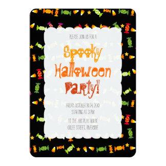 Trick-oder Leckerei-Reim - Halloween-Party 12,7 X 17,8 Cm Einladungskarte