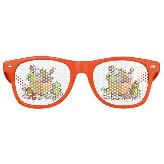 Trick-oder Leckerei-Süßigkeits-Schüssel Sonnenbrille