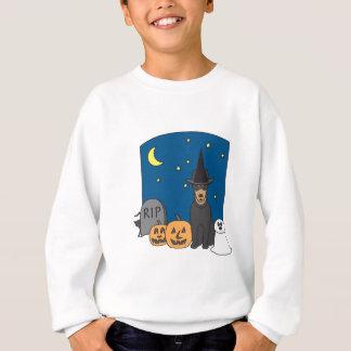 Trickoder LeckereiKelpie Halloween Sweatshirt