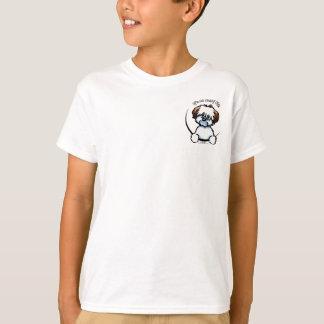 Tricolor Baumwolle, die ganz ungefähr ich seine T-Shirt
