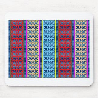 Tricolor geometrische Linie Mauspads