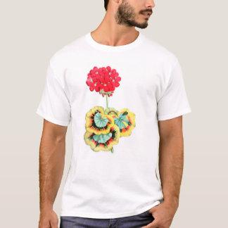 Tricolor-Leaved Pelargonie, Meteor T-Shirt