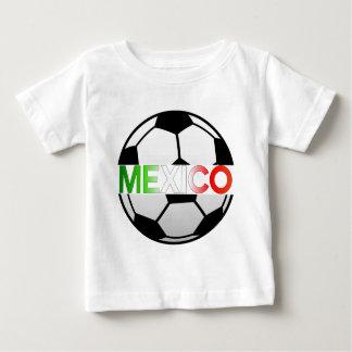 Tricolor Mexiko Fußball-Team EL Baby T-shirt